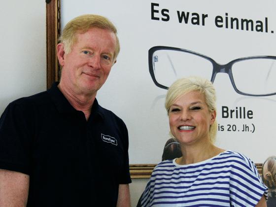 Ina Müller mit Dr. Jørgensen