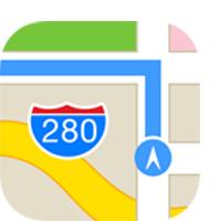 Route mit Apple Karten