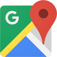 Route mit Google Maps