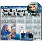 BILD Artikel zur Laserbehandlung