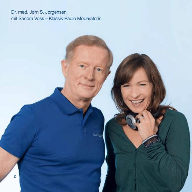 Dr. Jørgensen bei Klassik Radio mit Sandra Voss