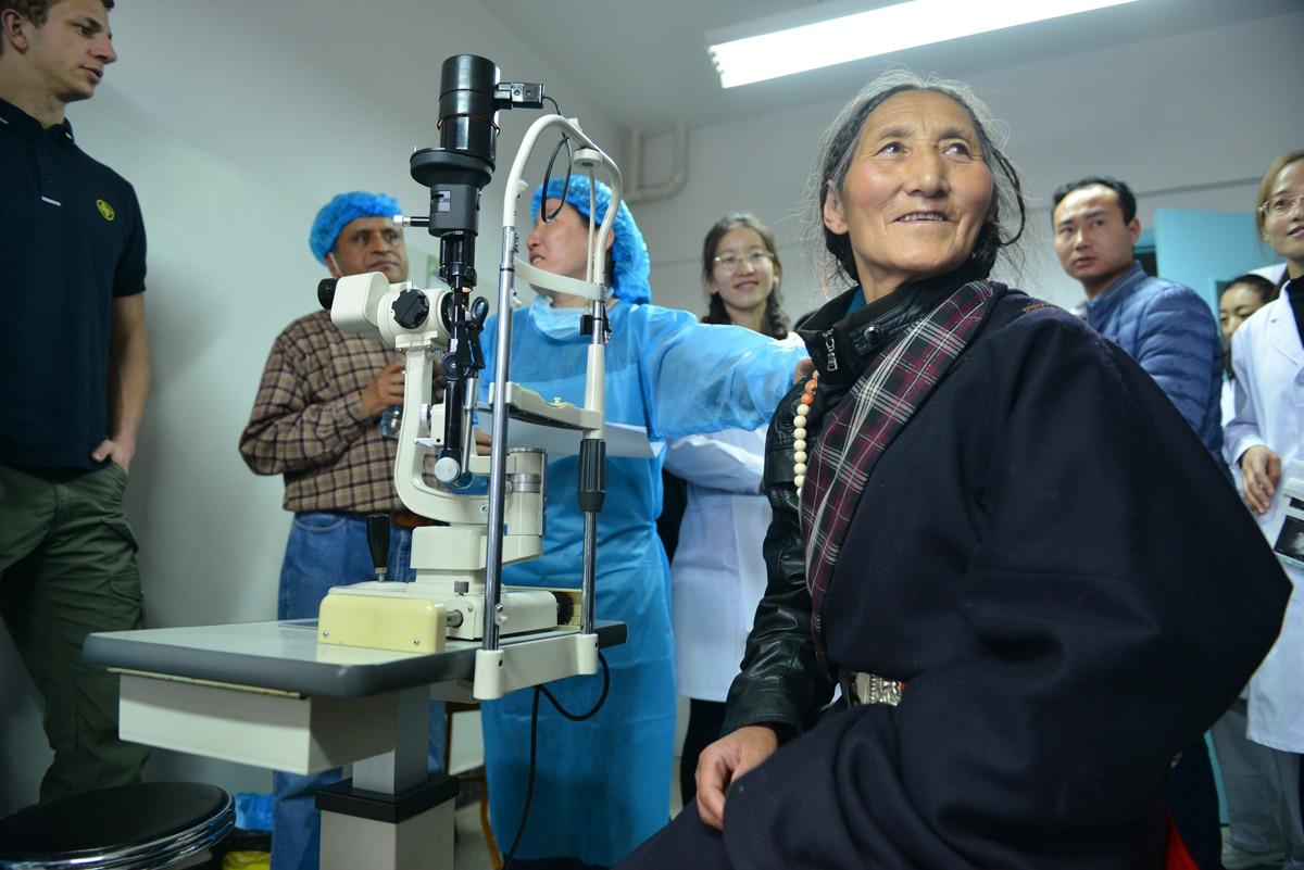 Patienten in Gannan