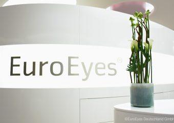 EuroEyes Leuchtschrift