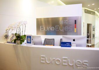 EuroEyes Beijing Empfang