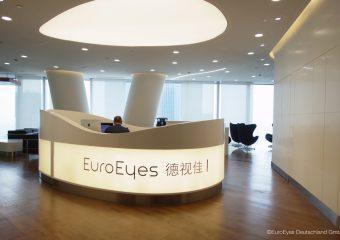 EuroEyes Guanzho Eingang