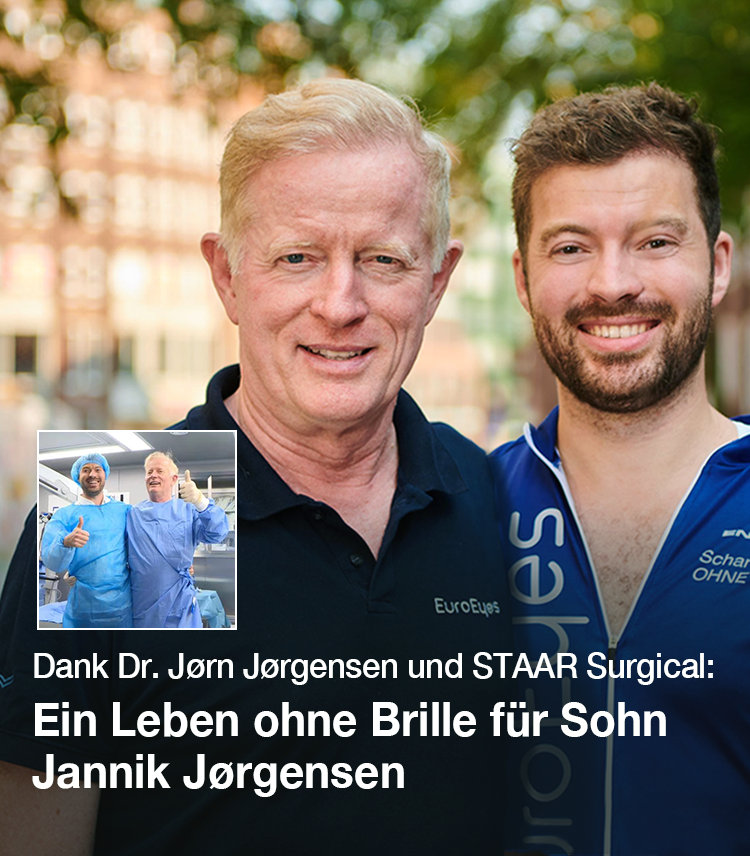 Dr Jørgensen & Sohn Jannik bei der EuroEyes Cyclassics