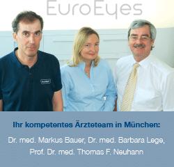 Ärzteteam bei EuroEyes München