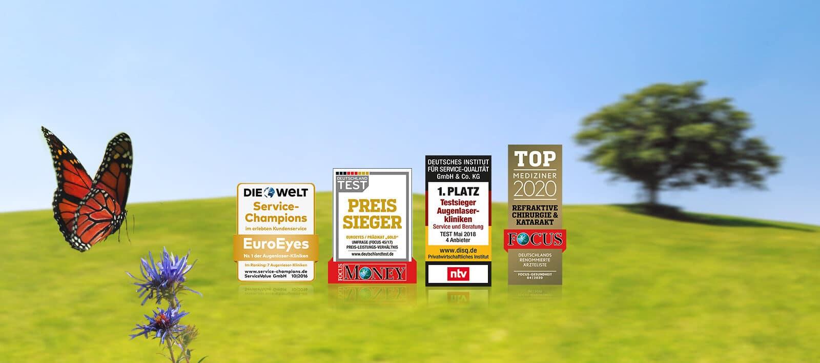 EuroEyes Auszeichnungen; Kurzsichtigkeit