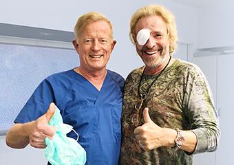 T. Gottschalk mit Dr. Jørgensen