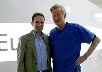 Althaus mit Dr. Jørgensen