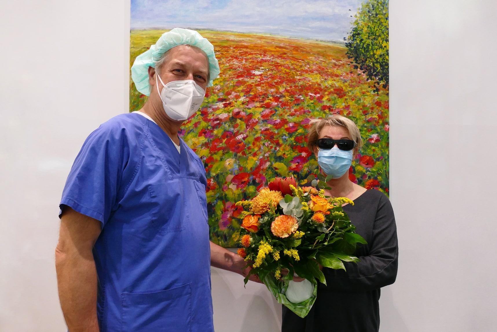 EuroEyes Patientin
