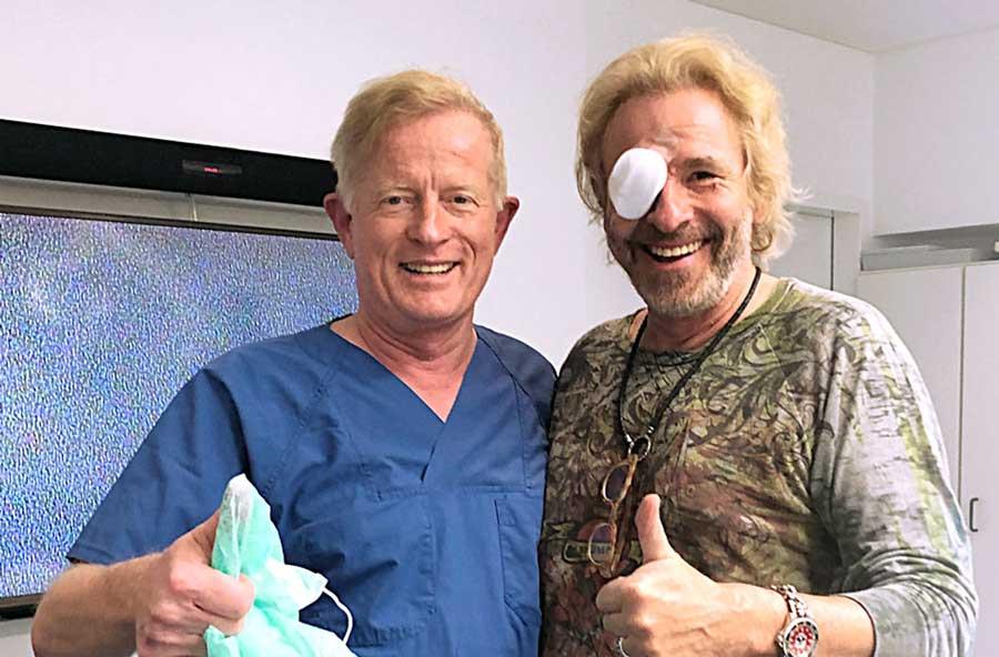 Thomas Gottschalk mit Dr. Jørgensen