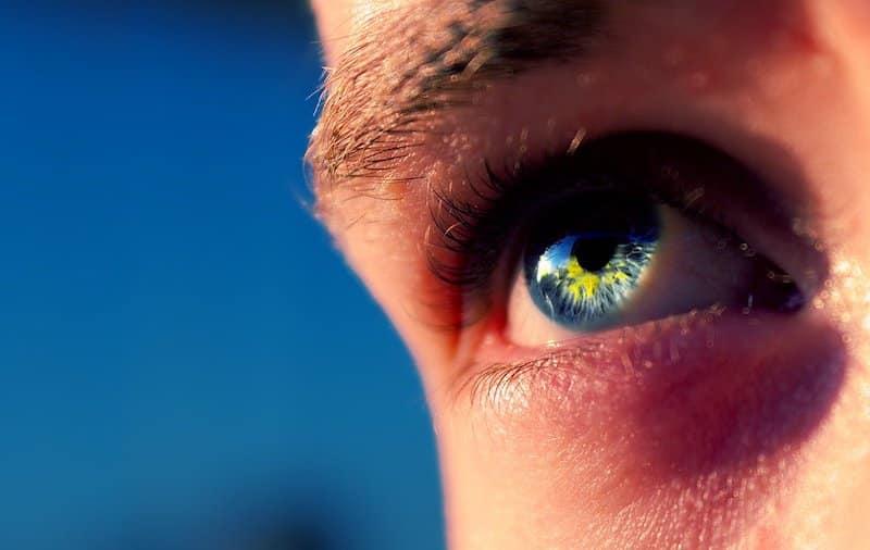 Augen Sonne