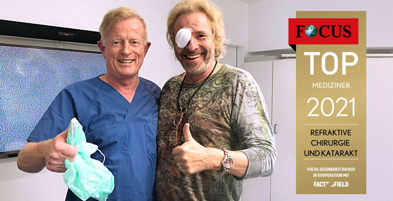 Focus Siegel mit Dr. Jørgensen & Thomas Gottschalk